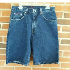 Vintage Y2K Tommy Hilfiger Denim Jean Shorts